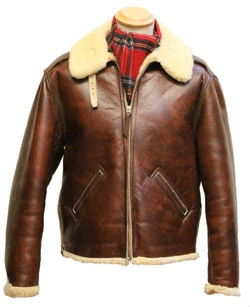 1b0043872d6 Aero Redskin B-6 Winter Leather Jackets