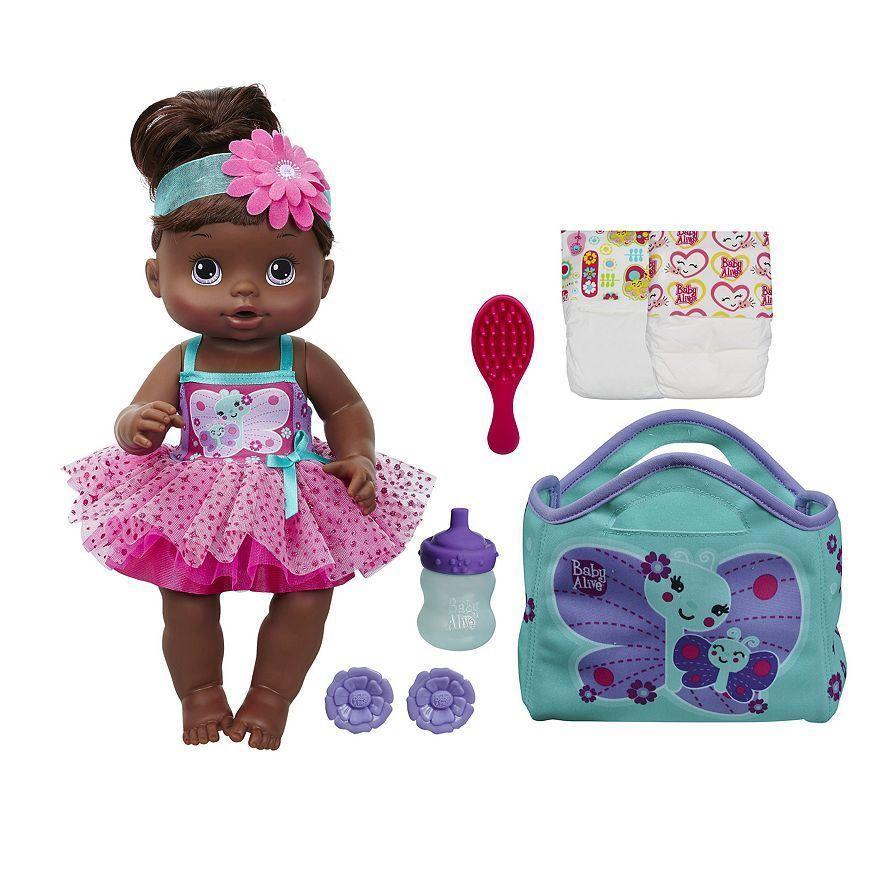 Nib Hasbro Baby Alive Twinkle Fairy Baby Doll Playset African American Hasbrobabyalive Baby Fairy Little Girl Toys Baby Dolls