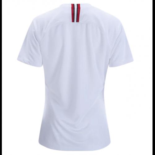 6ff29ca1fd0 18-19 PSG JORDAN 3rd Away White Women's Soccer Jersey Shirt | France ...