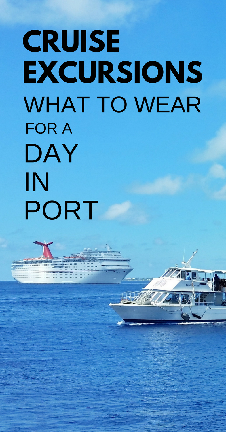 what to wear on cruise excursions what to pack for a cruise port rh pinterest com