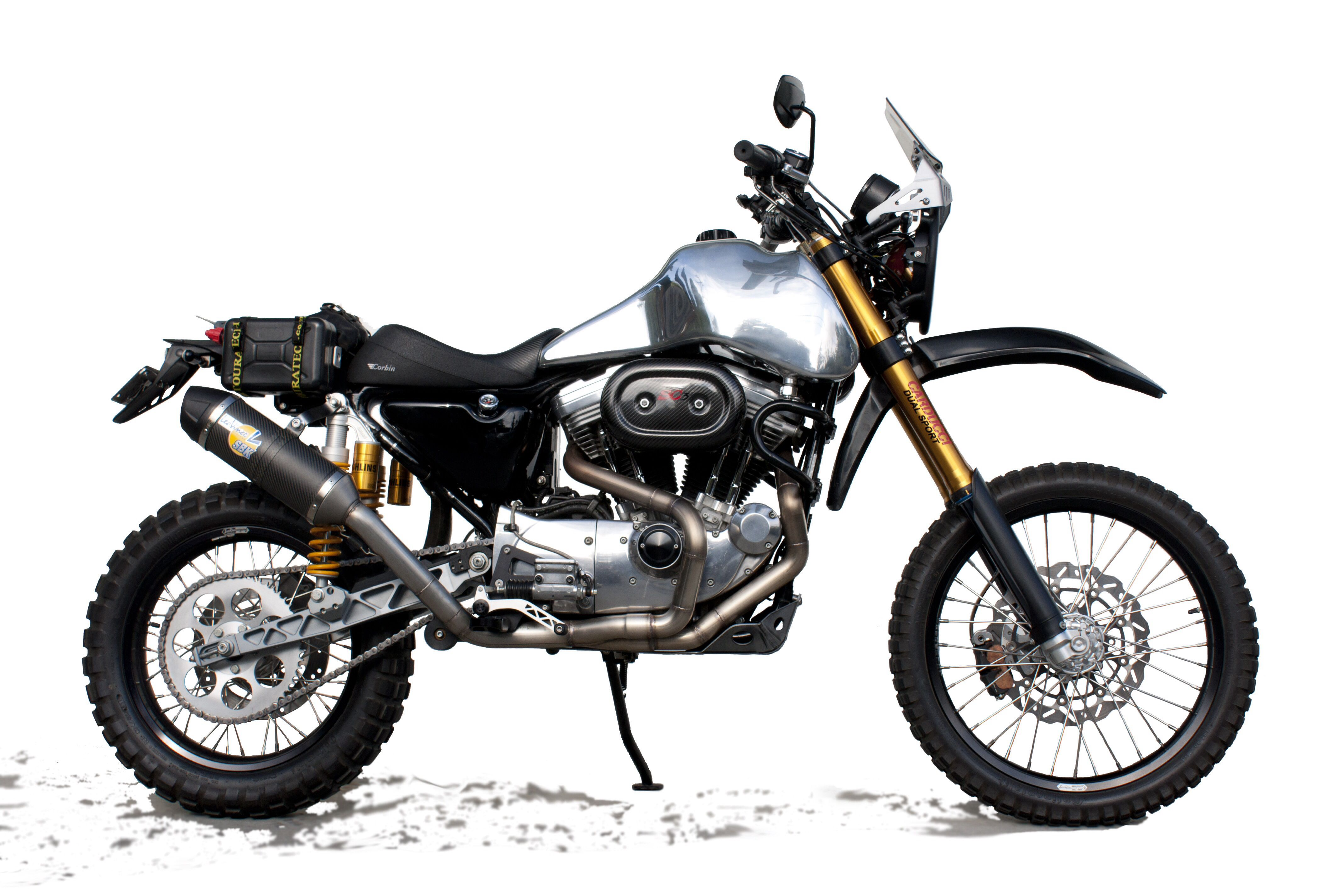 Delightful SC3 Adventure Dual Sport Motorcycle