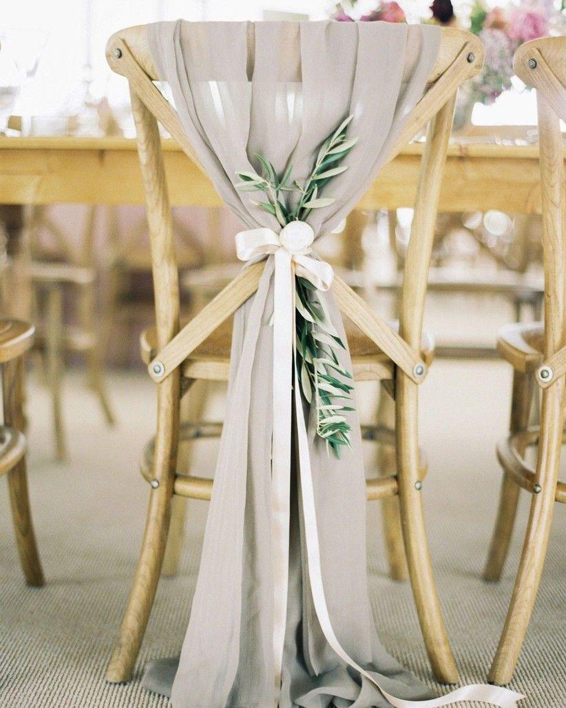 Wedding Decoration Ideas: 35 Ways to Transform Your Venue in 2020 | Wedding  chair decorations, Eucalyptus wedding decor, Weddings decorations elegant  romantic