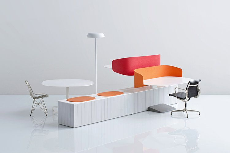 Super Workstations Designed For Collaboration Modeled On Friendly Interior Design Ideas Clesiryabchikinfo
