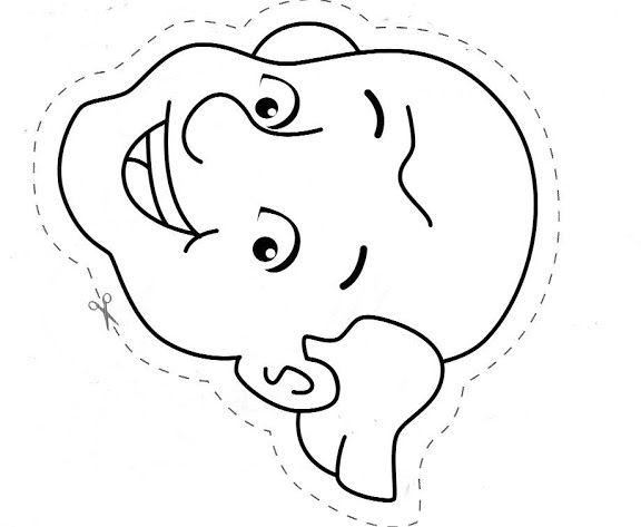 Maestra De Infantil La Familia Abuelos Padres Y Nietos Para Colorear Y Recortar Manualidades Dia Del Padre Dia Del Abuelo Dia De La Familia