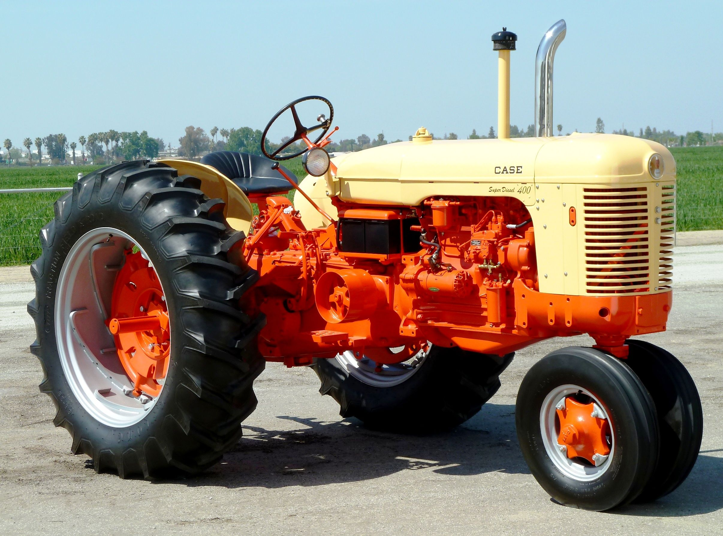 Old Case Tractor : Case tractors john root here is your model clever crafts