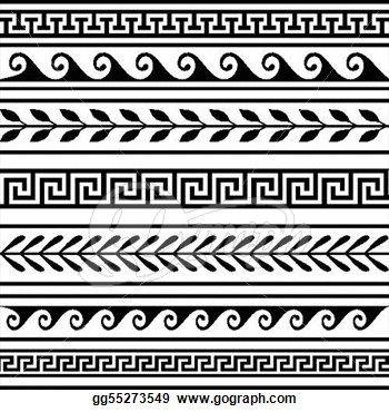 Greek Key Frame - Transparent Greek Border Patterns , Transparent Cartoon -  Jing.fm