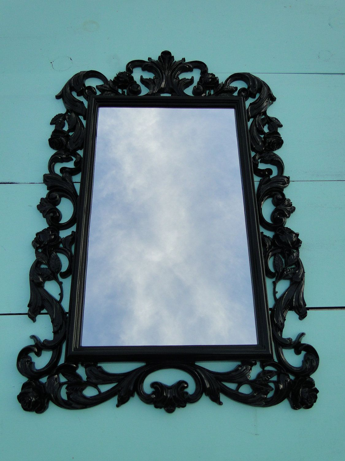 You Choose Color Large Ornate Vintage Gothic Mirror Wall Mirror