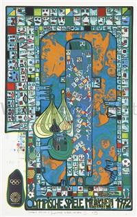 Pin Auf Friedensreich Hundertwasser Beruhmte Kunstwerke