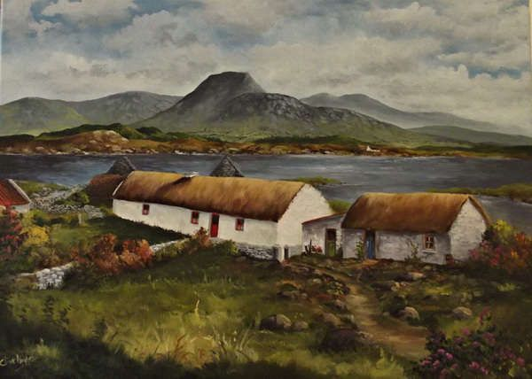Clive Hughes Irish Artist Galway Ireland Ireland