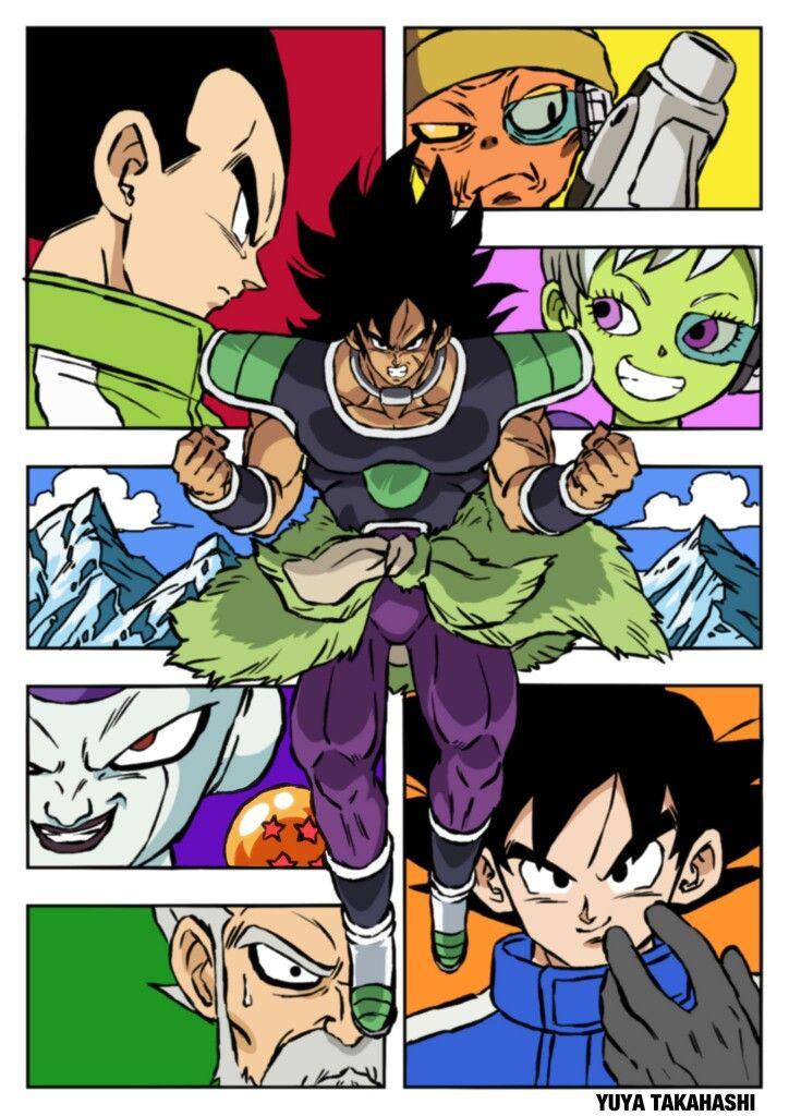 Dbs broly style manga | dragon ball | Dragon ball, Dragon ...