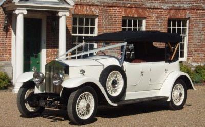 Wedding car - Vintage Rolls Royce