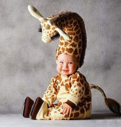 giraffe halloween costume for babies