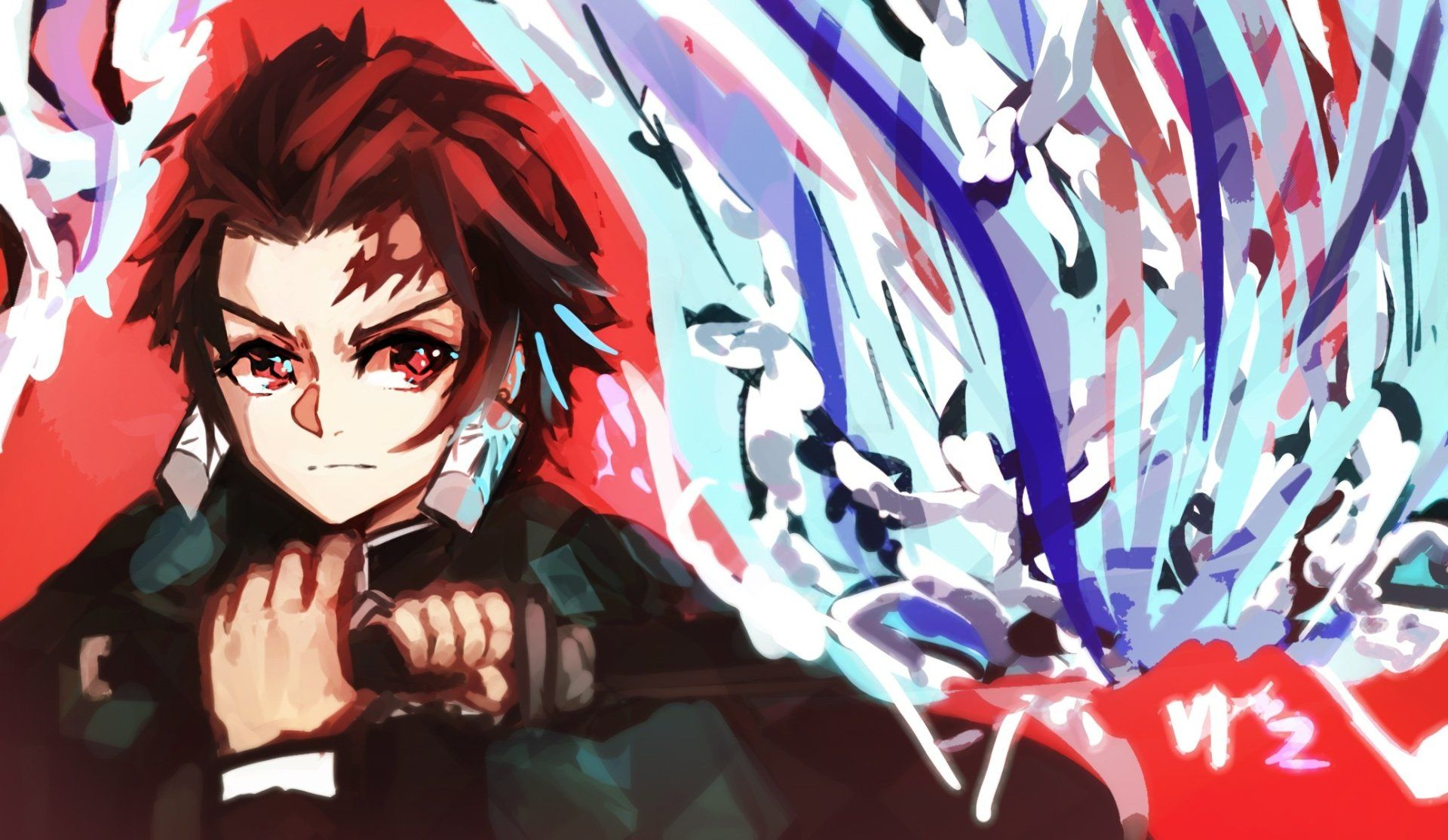 Anime Demon Slayer Kimetsu No Yaiba Tanjirou Kamado Wallpaper