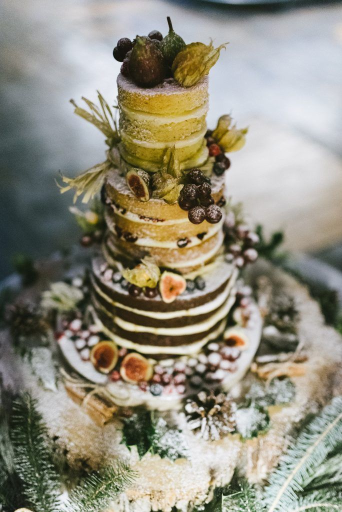{Real Wedding} Becca & Patrick - A December Wedding with Christmas trees and candles at The West Mill Venue | An Industrial, No Corkage Wedding Venue - Image: Ed Godden Photography