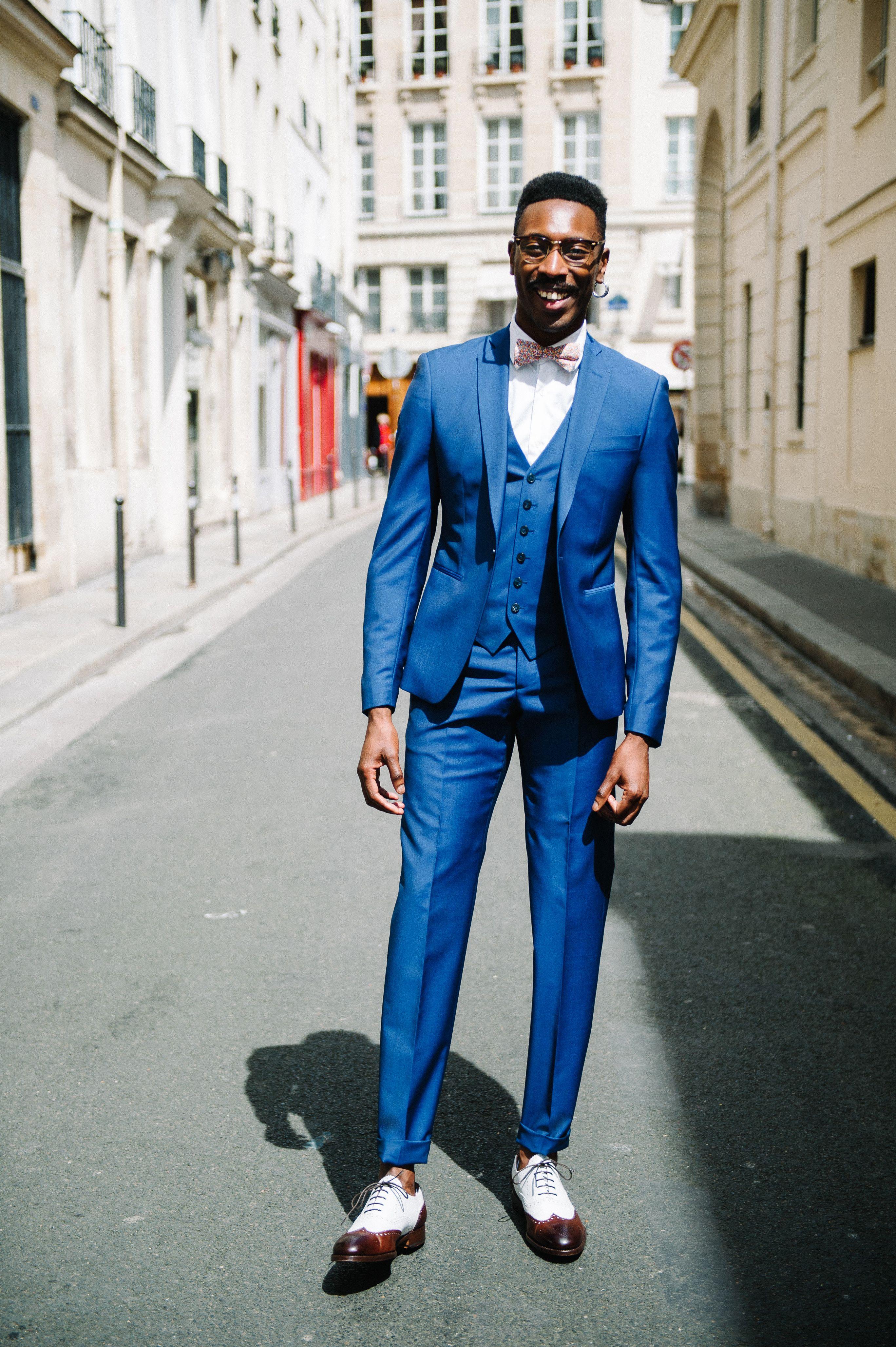 Beau Costume Homme avec costume bleu marseille cérémonie | mode men | pinterest | costumes