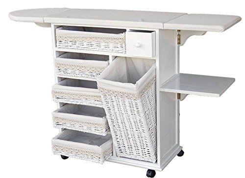 Mueble planchador estoril blanco meyvaser lavander a for Mueble planchador