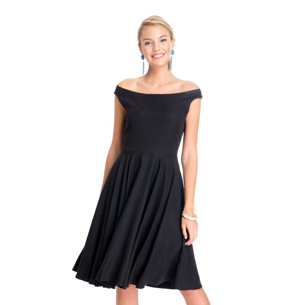 Off the Shoulder A-Line Dress -- Tuckernuck   Style   Pinterest ...