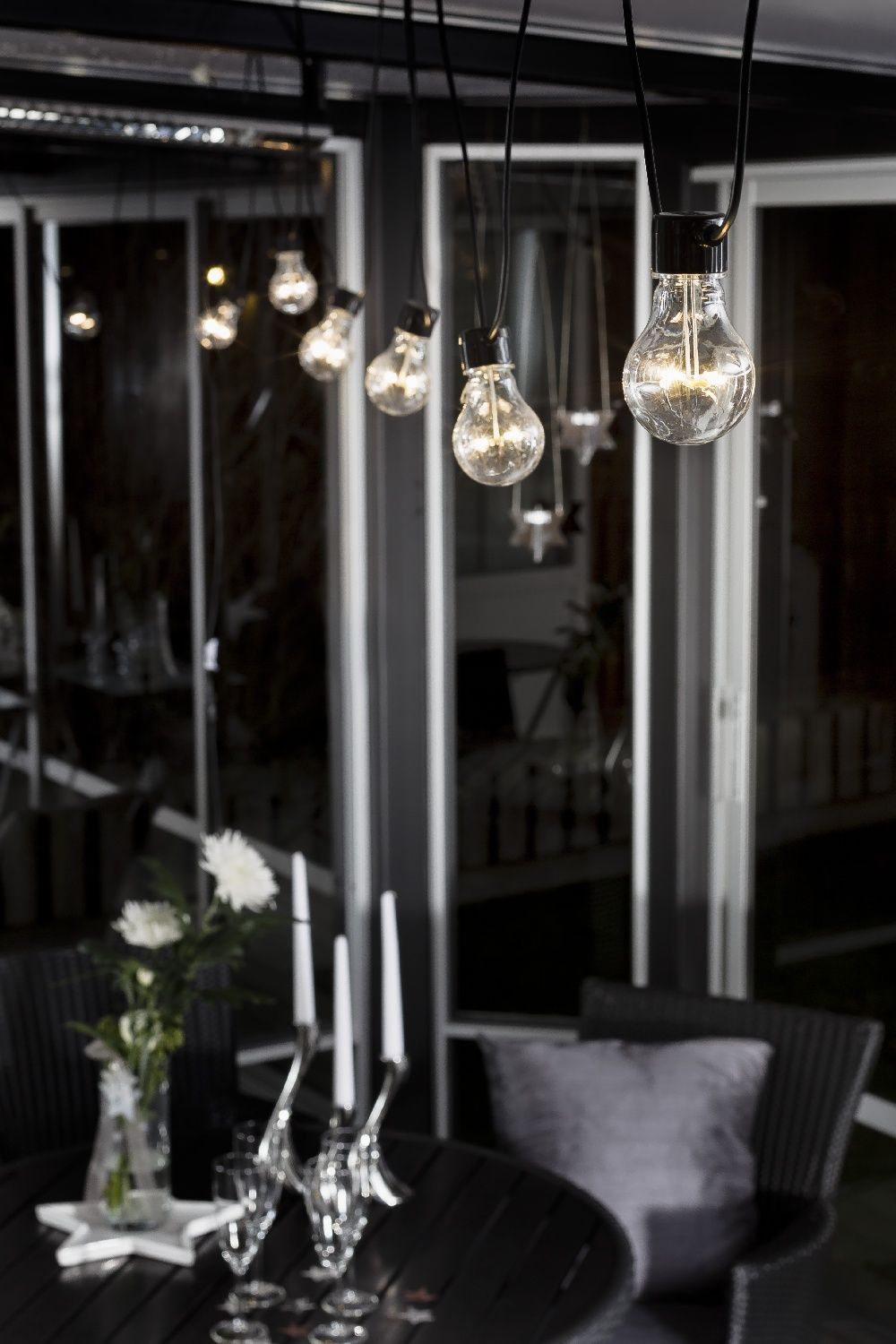 Luxury Party LED verlichting heldere LED lampen warmwit