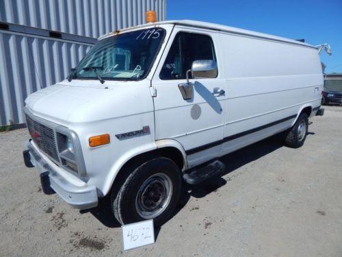 1995 Gmc Vandura 3500 Cargo Van With Crane Auction Date 8 22