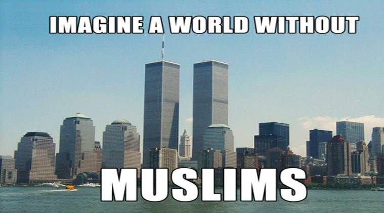 A world without Muslims? We'd have no coffee or toothbrush: This post has gone…