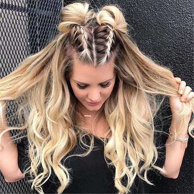 46 Einfach und süß Back To School Frisuren, die Sie ausprobieren müssen - Sei...  #ausprobieren #einfach #frisuren #mussen #school #diyfrisuren #backtoschool