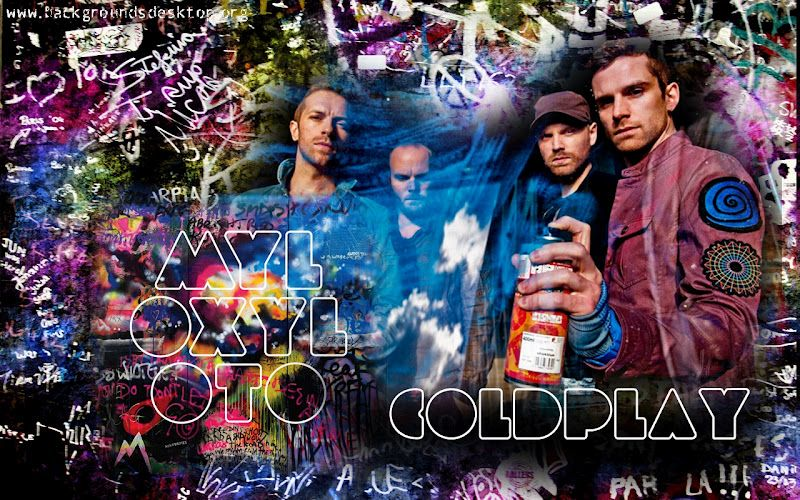 Coldplay Coldplay Animacao Musica