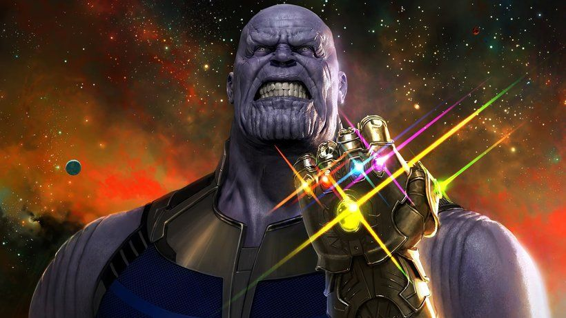 Thanos Infinity Stones Infinity Gauntlet Avengers Infinity War Movie 2018 3840x2160 Thanos Infinity Gauntlet Marvel Cinematic Universe Marvel Avengers