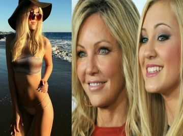 Ava Sambora Heather Locklear and Richie Sambora's Daughter Participates in Bikini Photo Shoot Never Seen Exclusive Video - CWEB