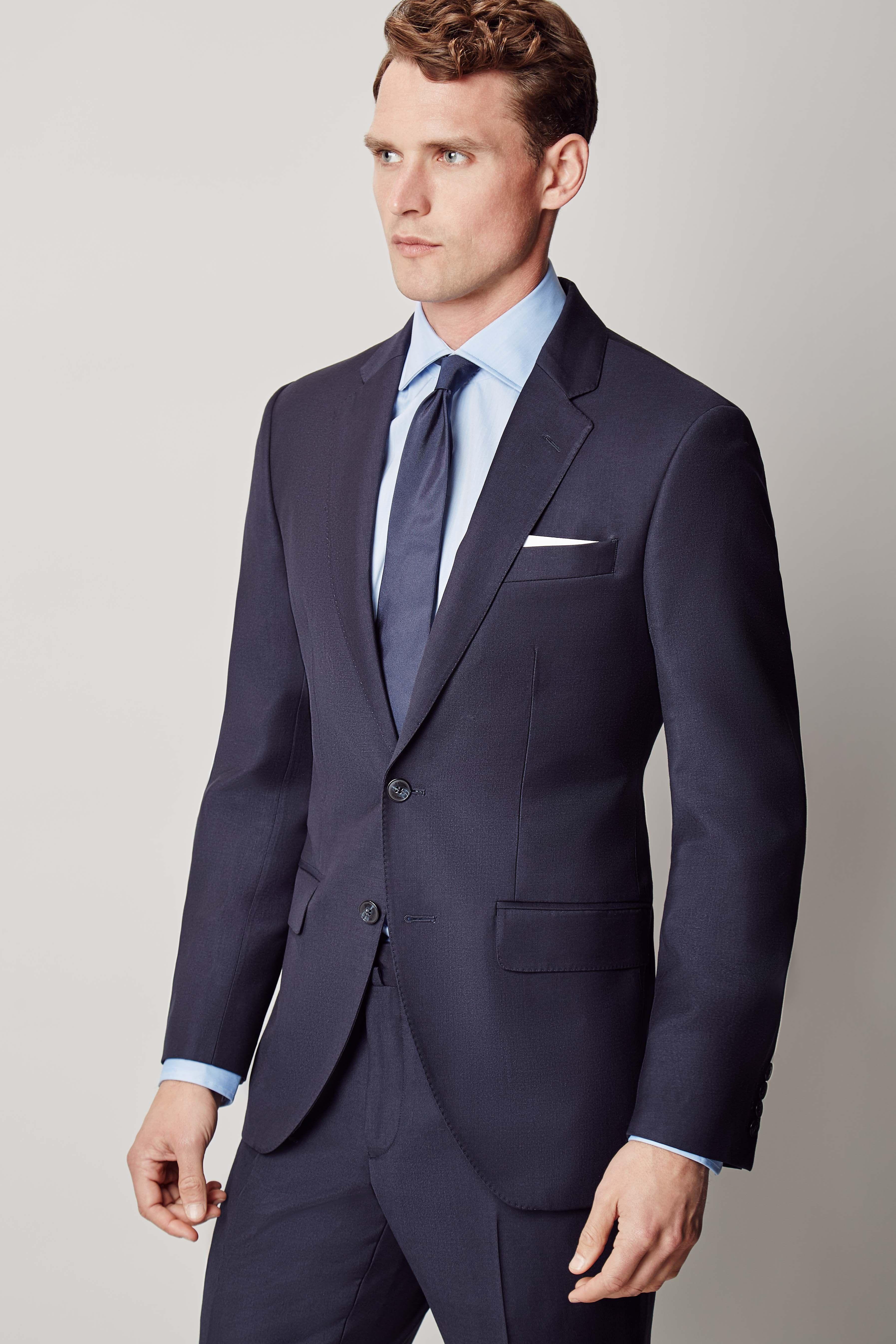 Veste de costume ajustée Mayfair - Costumes - Clothing - Hommes   Hackett 261b039e86cf