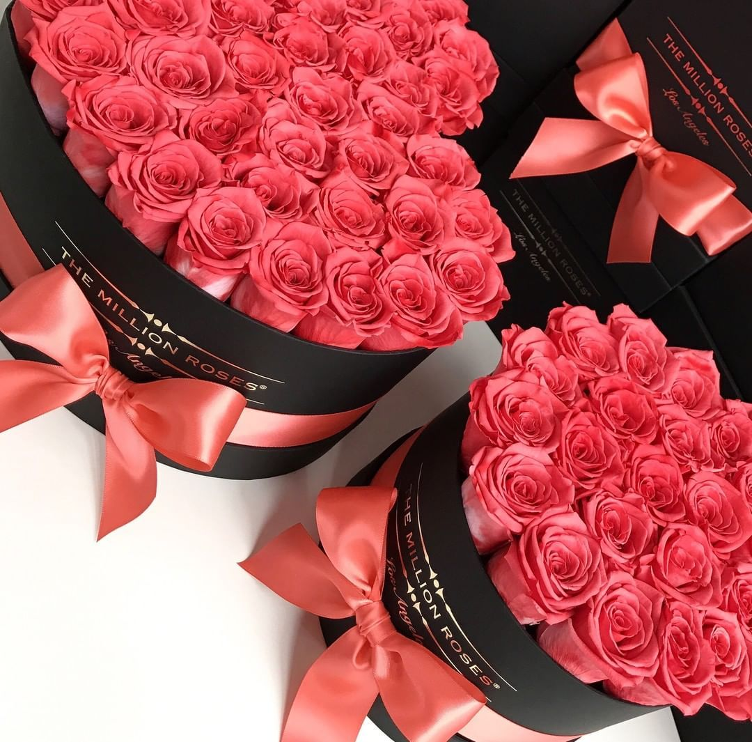 Shop This Instagram From The Million Roses Us Coral Roses Million Roses Rose