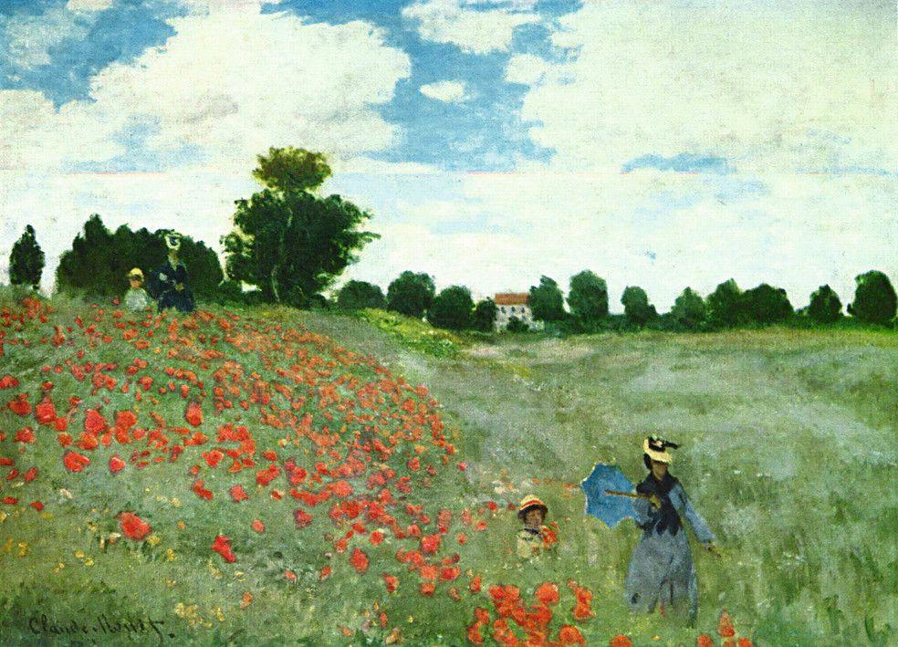 Monet: Amapolas en Argenteull, 1000 piezas | Puzzle adultos | Puzzle | Productos | ES | ravensburger.com