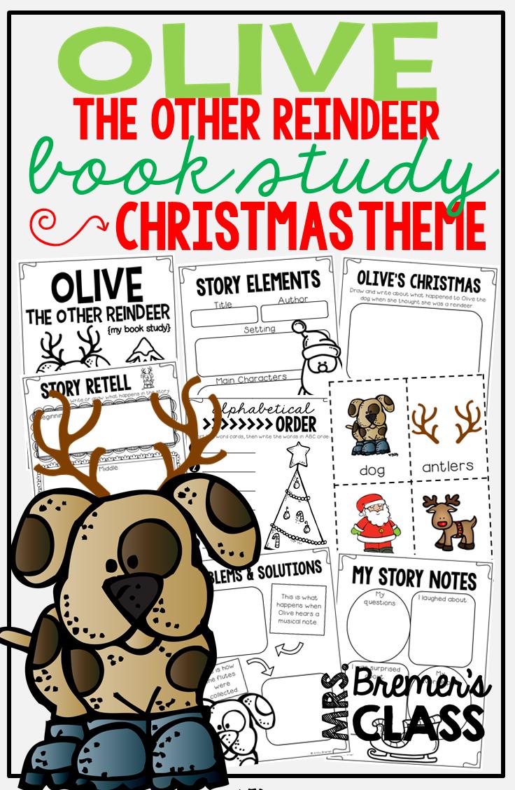 Olive the Other Reindeer | Christmas in Kindergarten | Pinterest ...