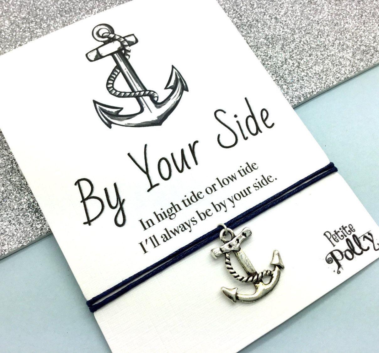 0221638de113 Friendship Bracelet  Anchor Charm Bracelet