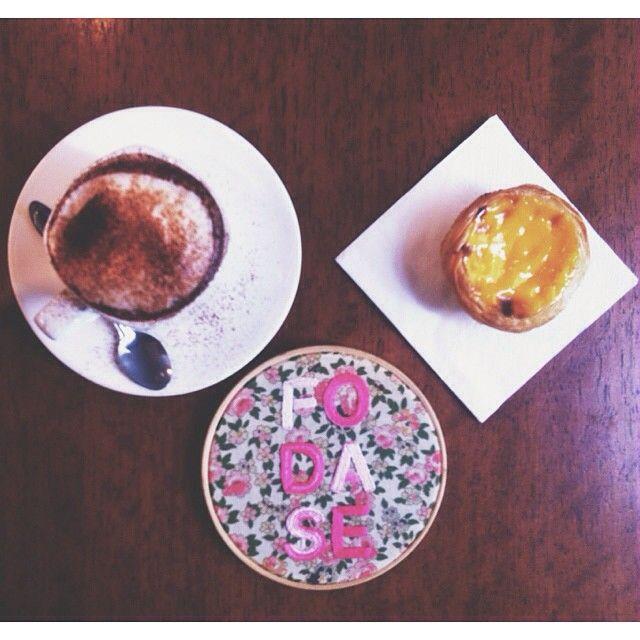 Geometria e libertação no café da manhã. Embroidery by Clube do Bordado #clubedobordado #embroidery #bordado