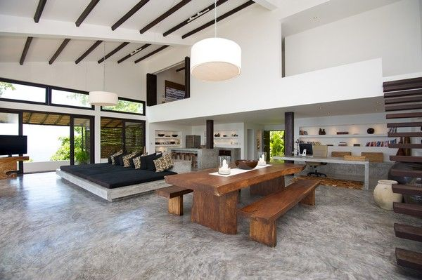 Modern Tropical Design Mixed With Traditional Thai Elements Casas