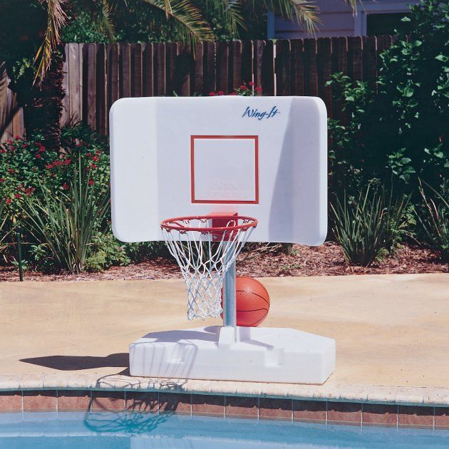 Swimming Pool Basketball Hoop/Goal | Home in 2019 | Pool ...