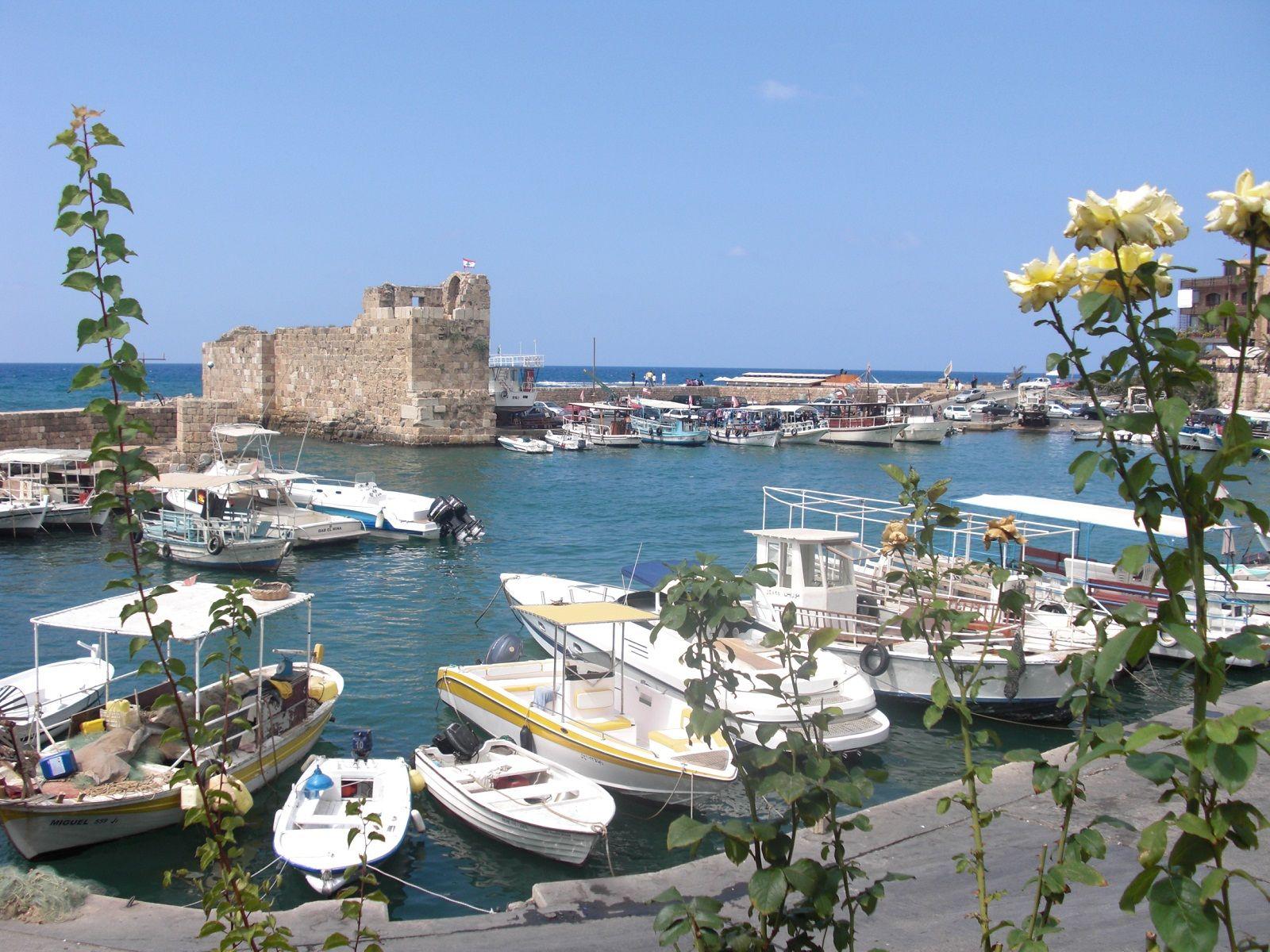 Byblos port Liban