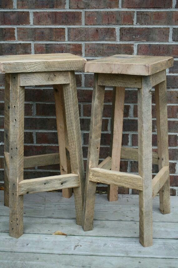 Stools With Images Rustic Bar Stools Barn Wood Projects Barn Wood