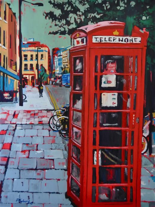 London Phone Booth by Pablo Solares.