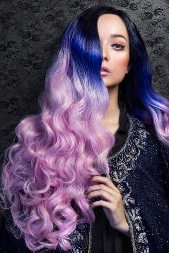 Pastel Purple Hair Youll Want To Wear ☆ See More: Http://lovehairstyles.com/ Pastel Purple Hair You Want Wear/
