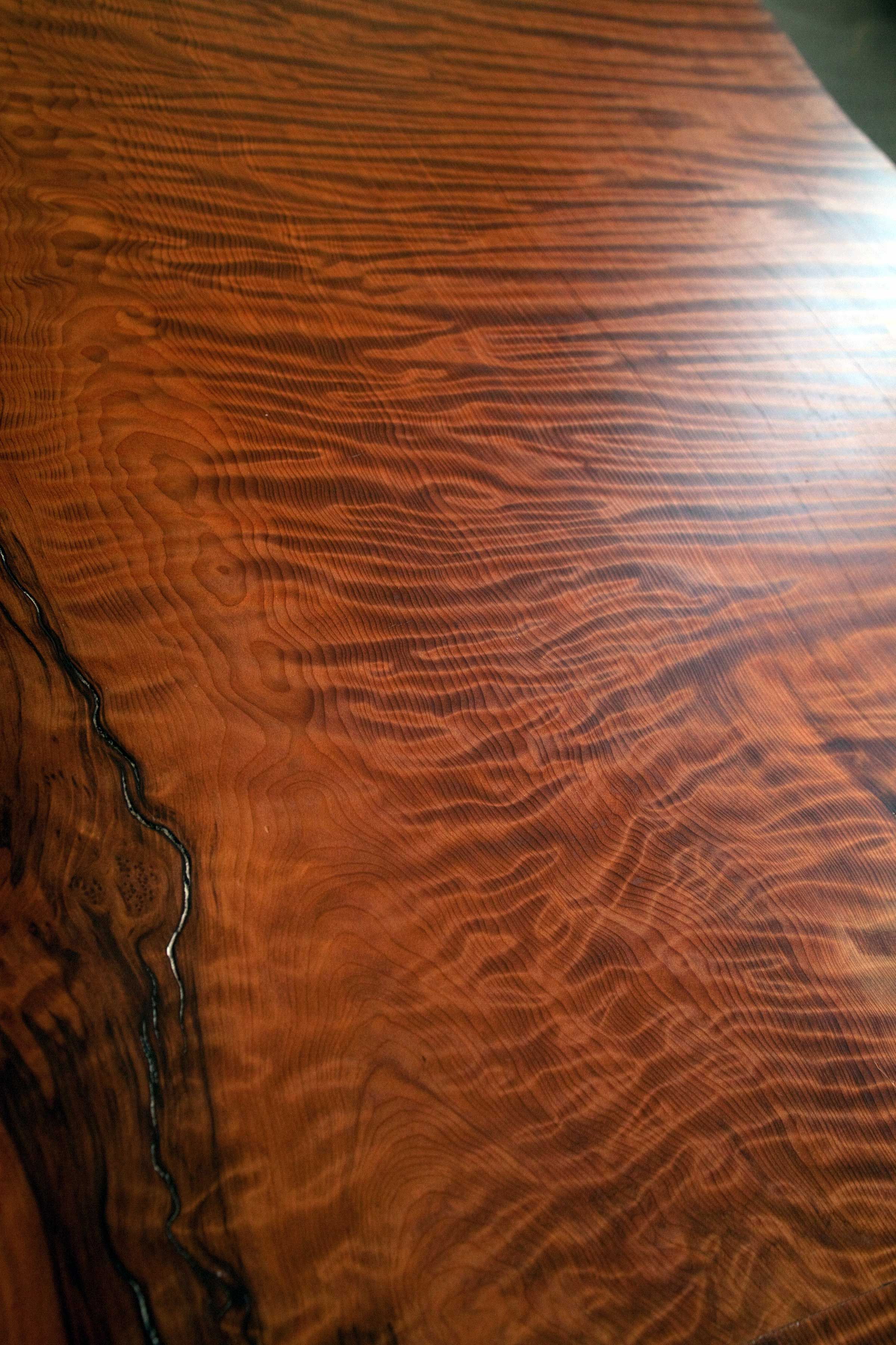 Redwood Slab Dining Table Longleaf Lumber Salvaged Redwood Slab Table For A Home In