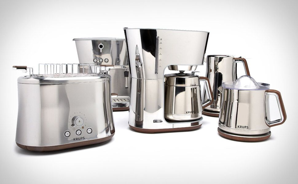 Krups Silver Art Collection Thinking Of Decking Your Kitchen Out In  Blinging Chrome? Outfit It