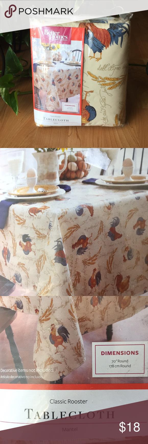 6a5ba1e8f4386b9a92553ee3f755733f - Better Homes And Gardens Holiday Edition Tablecloth