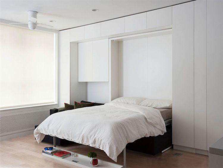 Ruimtebesparend bed