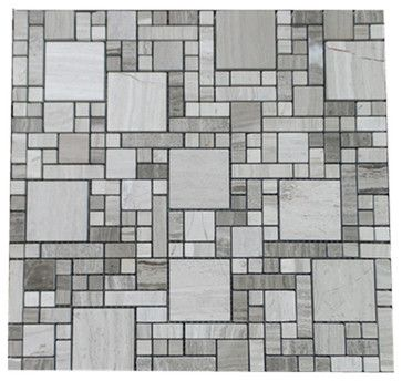 Clic Marble Multi Grid Mosaic Tile