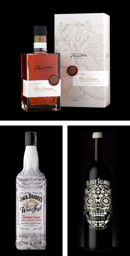 555e Package Design Marcas De Bebidas Alcoholicas Despacho De