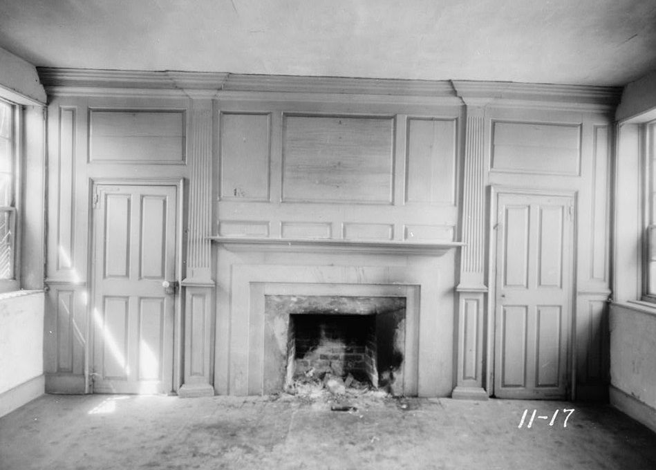 Interior View Of The Adam Keeling House