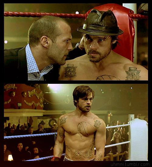 Year Ago 8 Notes Brad Pitt Jason Statham Mickey O Neil Turkish Brad Pitt Brad Pitt Tattoo Wonder Boys