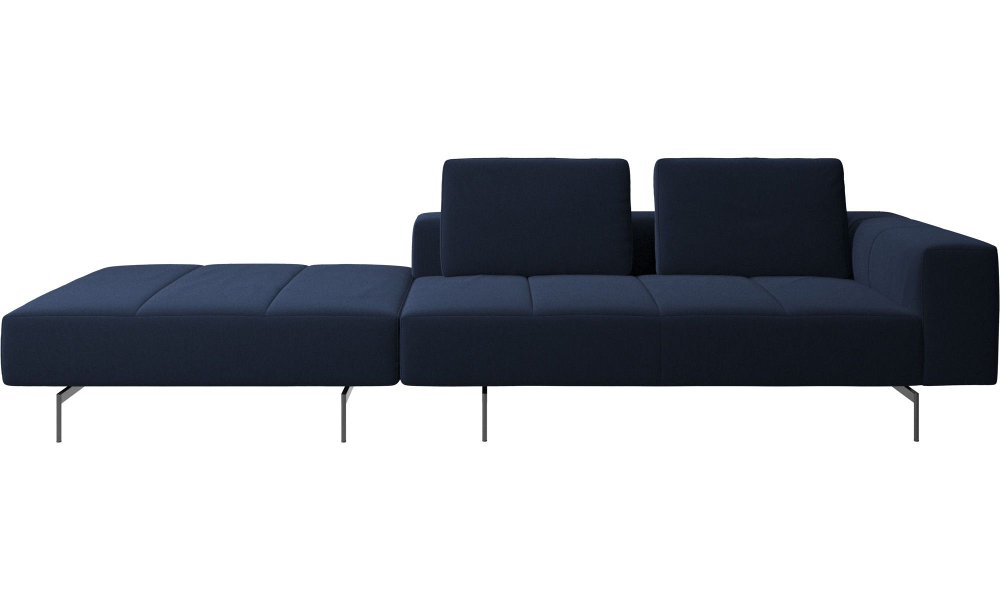 Amsterdam Sofa With Footstool On Left Side Comfortable Sofa Modular Sofa Sofa