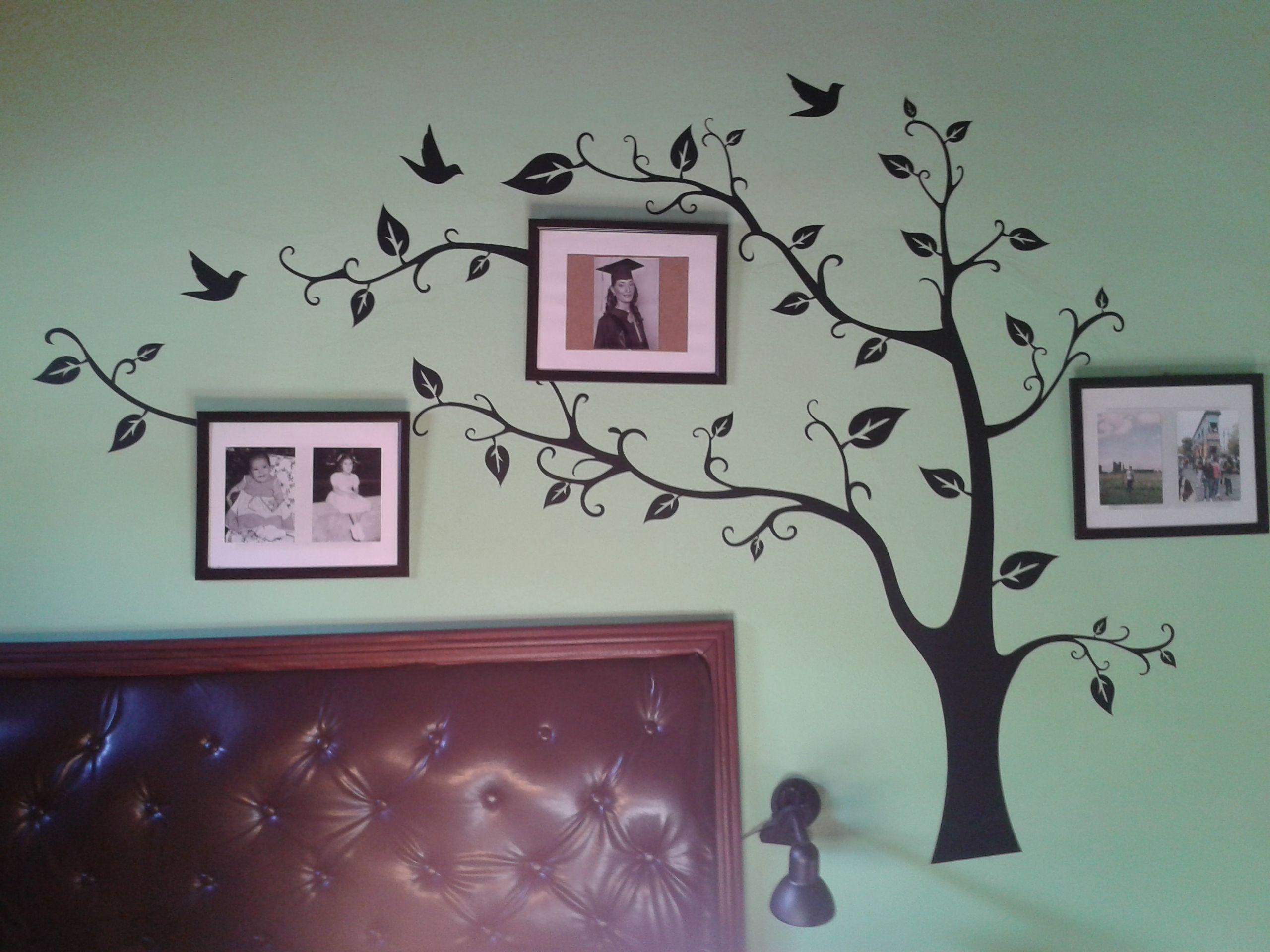 Walldecal walldecor tree decoracion en pared con fotos - Decoracion de paredes con fotos ...